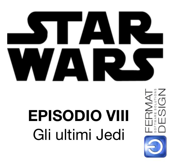 STAR WARS - Episodio VIII sala riservata a Udine il 13 dicembre 2017 per utenti ARCHICLUB