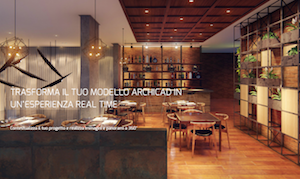 Trasforma il tuo modello ARCHICAD in un'esperienza real-time