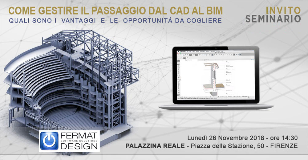 Dal CAD al BIM - Firenze