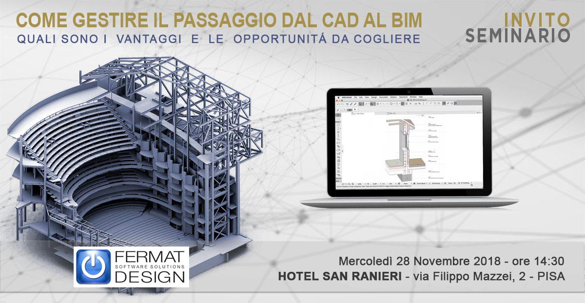 Dal CAD al BIM - Pisa
